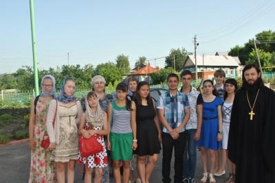 В Каменке открылся молодежный православный лагерь