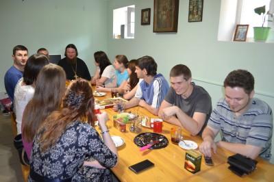 В Петропавловском храме г. Пензы прошло заседание активистов молодежного общества