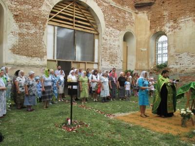 Праздник Святой Троицы в с. Константиновка