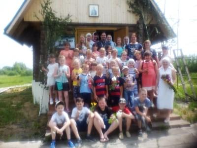 Школьники посетили храм святого равноапостольного князя Владимира в Кривозерье