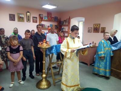 В Мокшанском детском доме-интернате для умственно отсталых детей состоялась Божественная литургия