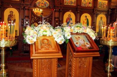 Престольный праздник отметили в храме Владимирской иконы Божией Матери г. Пензы