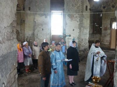Храм Вознесения Господня в с. Царевщино встретил 210 годовщину со дня освящения