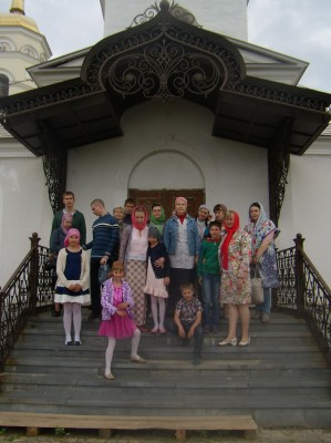 Воспитанники воскресной школы Никольского храма м/р Ахуны совершили паломническую поездку