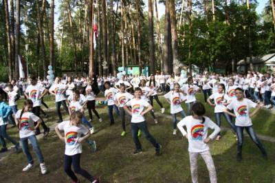 Завершилась первая православная смена в детском оздоровительном лагере «Орленок»