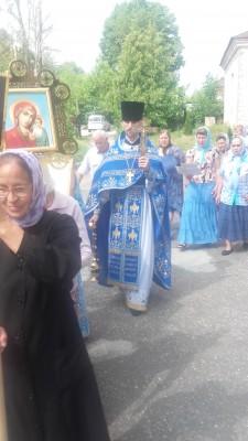 Престольный праздник отметили в Казанском храме с. Грабово