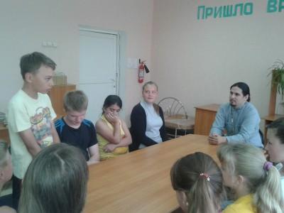 Священник встретился с учащимися общеобразовательной школы № 61 г. Пензы