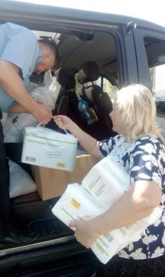 Социальная служба при пензенском храме Димитрия Донского оказала помощь подопечным Дома инвалидов в Золотаревке