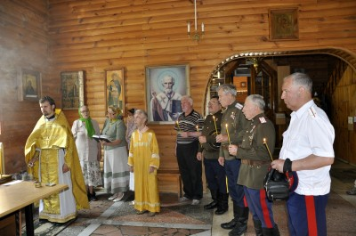 В день памяти М. Ю. Лермонтова в Никольском храме в Ахунах состоялась панихида по поэту