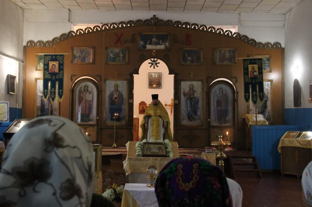 День памяти святых благоверных князя Петра и княгини Февронии в Никольском молитвенном доме с. Кондоль