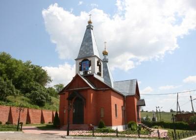 Праздник Рождества Иоанна Предтечи в Нижнеломовском Казанском мужском монастыре
