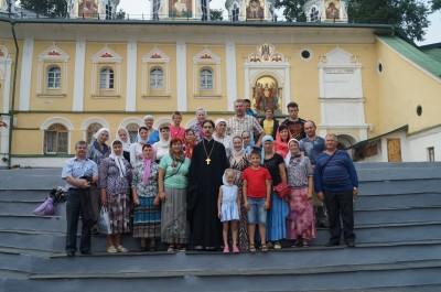 Паломническая поездка прихожан храма Георгия Победоносца с. Бессоновки в Санкт-Петербург