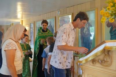 Престольный праздник отметили в Ильинском храме Бессоновки