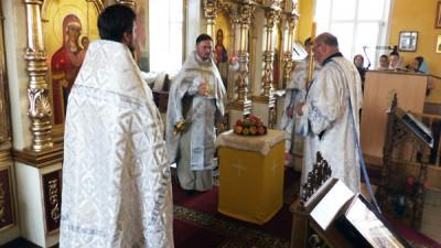 Празднование Преображения Господа Бога и Спаса нашего Иисуса Христа в Никольском храме Терновки