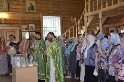 Престольный праздник отметили в храме преподобного Серафима Саровского в Пензе