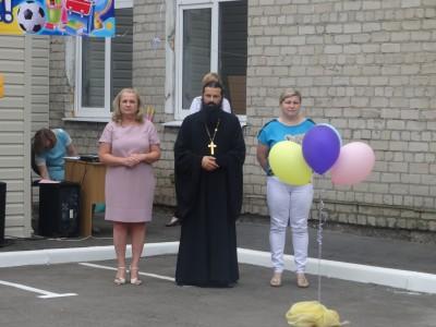 Председатель епархиальной комиссии по защите материнства и детства принял участие в благотворительной акции