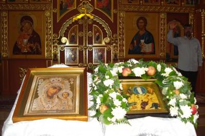 Праздник Преображения Господня в Казанской церкви села Трофимовка