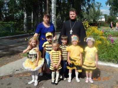 Священник посетил воспитанников мокшанского детского сада «Золотая рыбка»