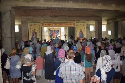 Празднование Успения Пресвятой Богородицы в Заречном