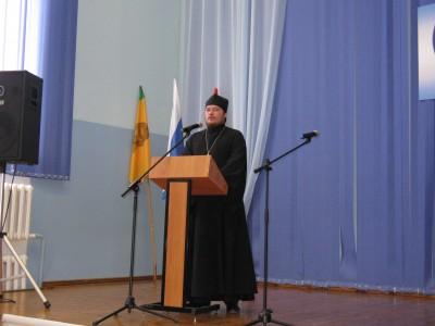 Священник принял участие в педагогической конференции в Мокшане