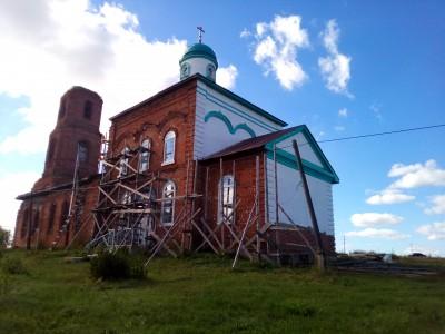 Престольный праздник отметили в Успенской церкви села Елизаветино