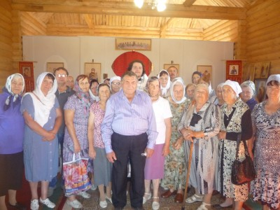 Празднование Успения Пресвятой Богородицы в храме Михаила Архангела с. Большая Елань