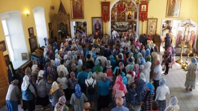 Успение Пресвятой Владычицы нашей Богородицы и Приснодевы Марии в Никольском храме Терновки