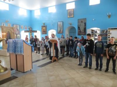 Начало нового учебного года в воскресной школе г. Городище