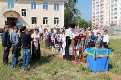 Воспитанники воскресной школы «Горлица» встретили новый учебный год торжественной линейкой