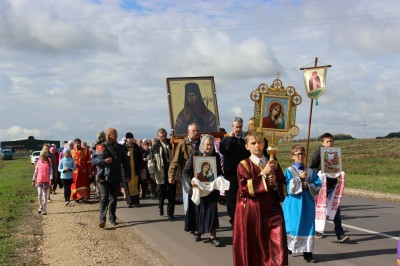 Воспитанники воскресной школы при Никольском храме Пензы посетили святые местам Соловцовки и Большой Валяевки
