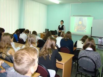 Для учащихся школы №16 г. Пензы прошёл урок православия «Иннокентий Пензенский – покровитель нашего края»