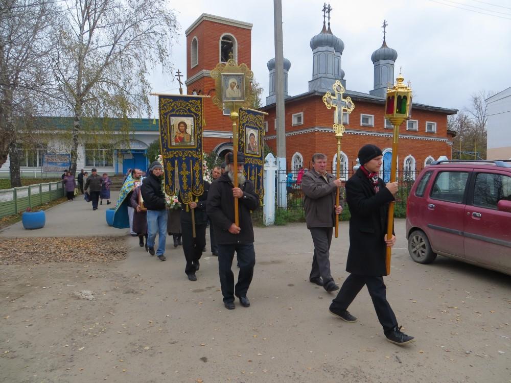 Праздник Покрова Пресвятой Богородицы в Городище
