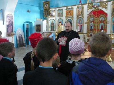 Учащиеся школы №1 г. Городище побывали на экскурсии в храме