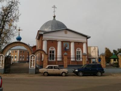 В Никольском храме в Терновке состоялся водосвятный молебен с акафистом Божией Матери ради ее чудотворного образа «Неупиваемая чаша»