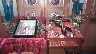 Празднование дня памяти святых мучениц Веры, Надежды, Любови и матери их Софии в храме Михаила Архангела с. Большая Елань