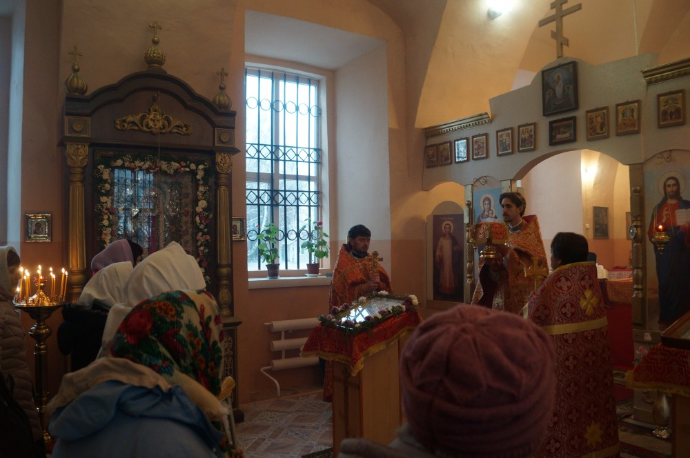 Праздник святой великомученицы Параскевы (Пятницы) в с. Пыркино