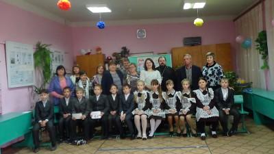 Священник посетил открытый урок по курсу «Семьеведение» в селе Архангельское