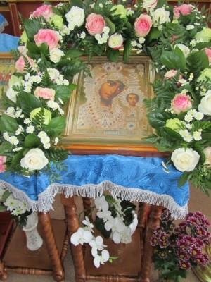 Празднование Казанской иконы Божией Матери в селе Трофимовка