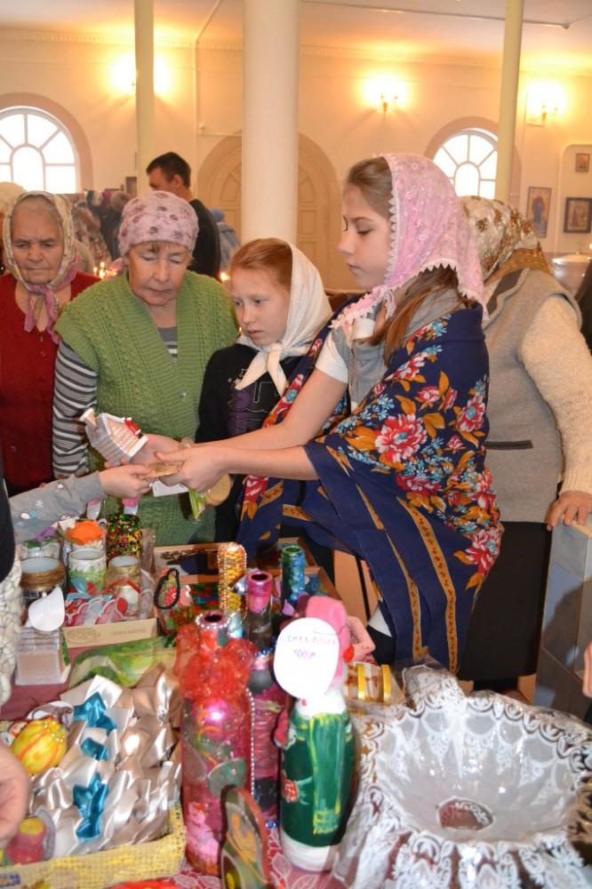 Благотворительная ярмарка в Золотарёвке
