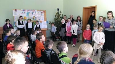 Праздничный утренник в воскресной школе Никольского храма в Терновке