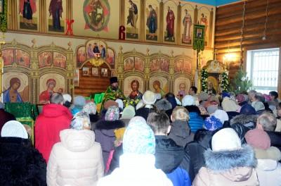 Престольный праздник отметили в храме Серафима Саровского в Пензе