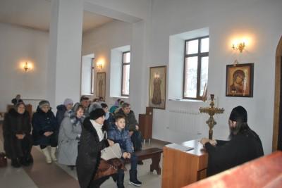 Православный лекторий открылся при храме святого благоверного князя Александра Невского в Каменке