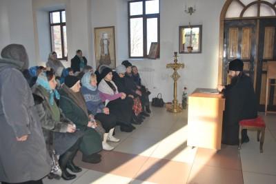 В Каменке в рамках православного лектория состоялась встреча священника Даниила Бойкова с горожанами