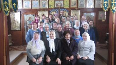Паломники посетили Введенскую церковь в Чемодановке