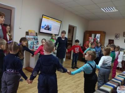 Празднование масленицы в краеведческом музее г. Городище
