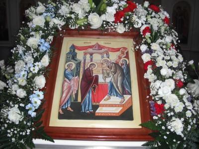 Праздник Сретения в Каменке