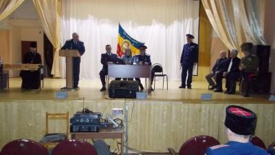 Благочинный бессоновского округа посетил казачий круг Бессоновского станичного казачьего общества