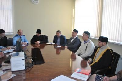 В Каменке прошло заседание рабочей группы по вопросам противодействия распространению религиозного экстремизма