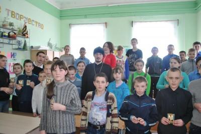 Священник встретился с воспитанниками школы-интерната с. Головинщино