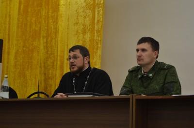 Протоиерей Александр Овцынов встретился с военнослужащими в/ч 3473 г. Заречного